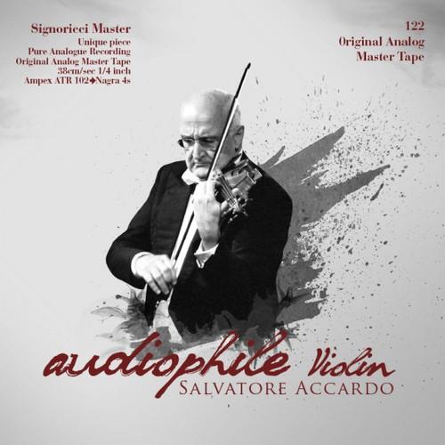 "Classical MASTER TAPE - Audiophile Violin. Fonè Records, original cat.# Fonè 122, format 1x 1/4"" RTM SM900 Tape set, Metal reel 10,5""/265mm, NAB Hub, 38 cm/s (15 ips), IEC eq. More info on www.sepeaaudio.com"