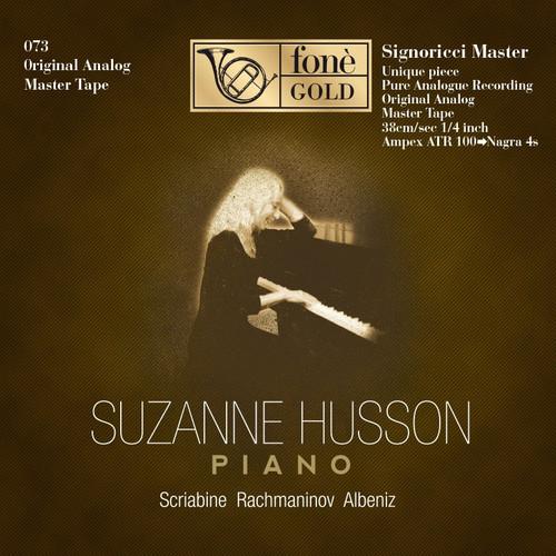 "Classical MASTER TAPE - Suzanne Husson - Piano. Fonè Records, original cat.# Fonè 073, format 1x 1/4"" RTM SM900 Tape set, Metal reel 10,5""/265mm, NAB Hub, 38 cm/s (15 ips), IEC eq. More info on www.sepeaaudio.com"