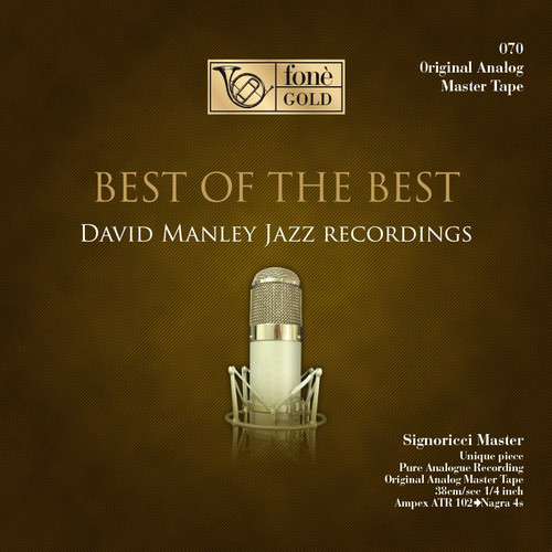"Jazz MASTER TAPE - David Manley Jazz - Best of The best . Fonè Records, original cat.# Fonè 070M, format 2x 1/4"" RTM SM900 Tape set, Metal reel 10,5""/265mm, NAB Hub, 38 cm/s (15 ips), IEC eq. More info on www.sepeaaudio.com"