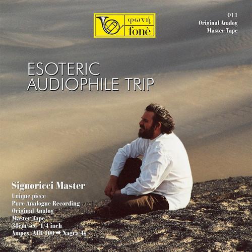 "Classical MASTER TAPE - Esoteric Audiophile Trip. Fonè Records, original cat.# Fonè 011, format 1x 1/4"" RTM SM900 Tape set, Metal reel 10,5""/265mm, NAB Hub, 38 cm/s (15 ips), IEC eq. More info on www.sepeaaudio.com"