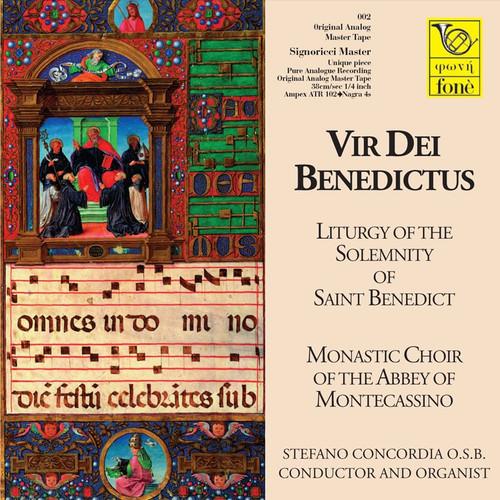 """Vocal MASTER TAPE - Vir de Benedictis - Liturgia della Solennità di San Benedetto. Fonè Records, original cat.# Fonè 002, format 1x 1/4"""" RTM SM900 Tape set, Metal reel 10,5""""/265mm, NAB Hub, 38 cm/s (15 ips), IEC eq. More info on www.sepeaaudio.com"""