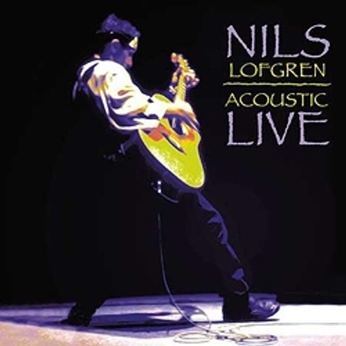 Pop LP 200g - Nils Lofgren: Acoustic Live. Acoustic Sounds AS09033, Cat.# AS AAPP 090-33, format 2LPs 200g 33rpm. Barcode 0753088009013. More info on www.sepeaaudio.com