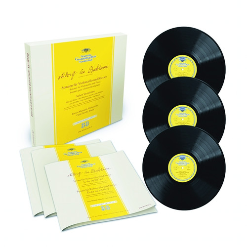 8808678161533 LP 180g - Beethoven: Sonatas for Violoncello and Piano. Analogphonic CL43153, Cat.# Analogphonic LP 43153, format 3LPs 180g 33rpm. Barcode Classical . More info on www.sepeaaudio.com