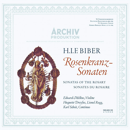 Classical  LP 180g - H.I.F. Biber: Sonatas Of The Rosary. Analogphonic CL43166, Cat.# Analogphonic LP43166, format 2LPs 180g 33rpm. Barcode 8808678161663. More info on www.sepeaaudio.com