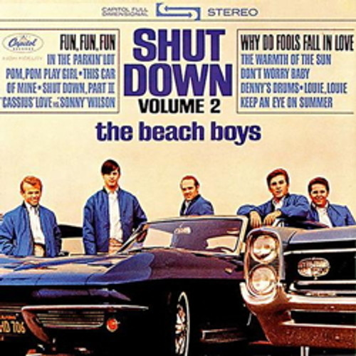LP 200g - The Beach Boys: Shut Down Volume 2 (stereo-edition). Acoustic Sounds AS062S, Cat.# AS AAPP 062 S-33, format 1LP 200g 33rpm. Barcode 0753088006210. More info on www.sepeaaudio.com