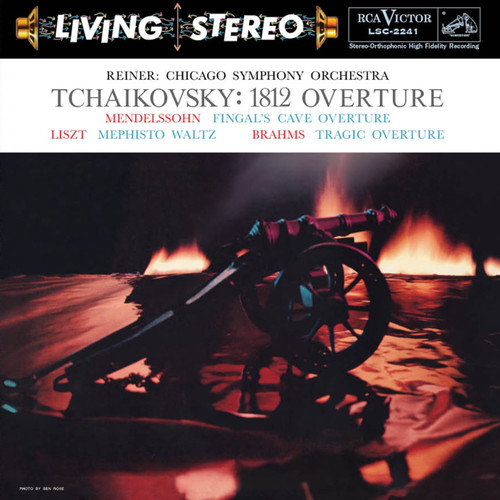 Classical  LP 200g - Tchaikovsky: 1812 Overture. Acoustic Sounds AS224133, Cat.# AS AAPC 2241-33, format 1LP 200g 33rpm. Barcode 0753088224119. More info on www.sepeaaudio.com