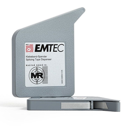 "EMTEC Splicing Tape Dispenser 0,25""; WHITE 16,4′ / 5m"