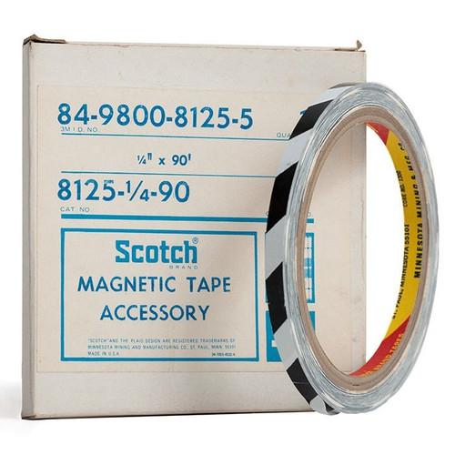 """Scotch Splicing Tape 0,25""""; BLACK/WHITE 90′ / 30m"""