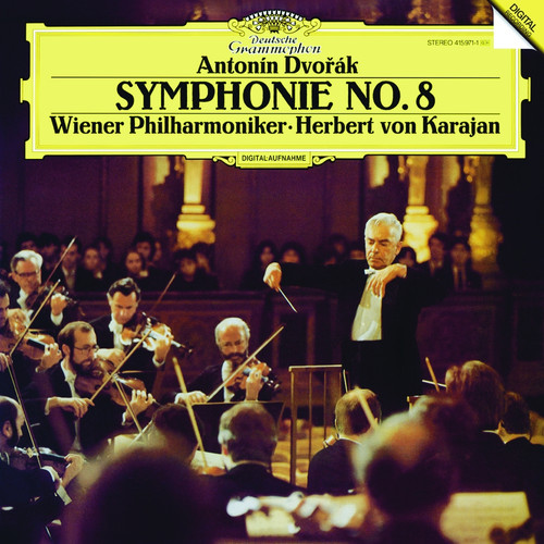 Classical  LP 180g - Dvorak: Symphony No. 8. Analogphonic CL43046, Cat.# Analogphonic LP 43046, format 1LP 180g 33rpm. Barcode 8808678160468. More info on www.sepeaaudio.com