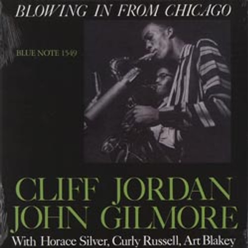 Jazz LP 180g - Cliff Jordan & John Gilmore: Blowing In (45rpm-edition). Acoustic Sounds AS1549, Cat.# AS ABNJ 1549-45, format 2LPs 180g 45rpm. Barcode 0753088145476. More info on www.sepeaaudio.com