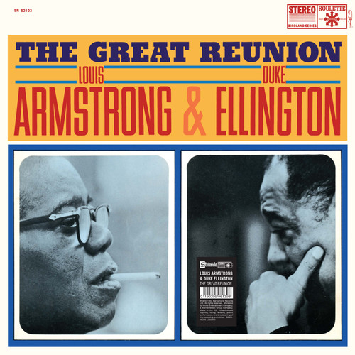 ARMSTRONG, L. & D. ELLINGTON THE GREAT REUNION (1x 140g) JAZZ VINYL ALBUM. Warner Music 9029596139. EAN 0190295961398. Release date 04.11.2016. More info on www.sepeaaudio.com