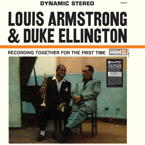 ARMSTRONG, L. & D. ELLINGTON TOGETHER FOR THE FIRST TIME (1x 140g) JAZZ VINYL ALBUM. Warner Music 9029596138. EAN 0190295961381. Release date 04.11.2016. More info on www.sepeaaudio.com