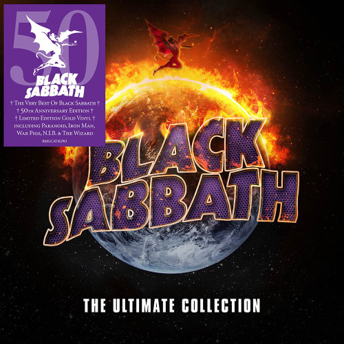 BLACK SABBATH THE ULTIMATE COLLECTION (4x 140g) ROCK VINYL ALBUM. Warner Music 4050538629347. EAN 4050538629347. Release date 07.08.2020. More info on www.sepeaaudio.com