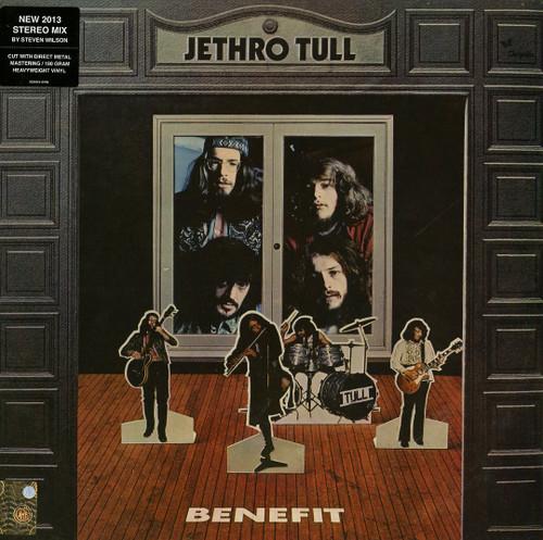 JETHRO TULL BENEFIT (1x 180g) ROCK VINYL ALBUM. Warner Music 2564641019. EAN 0825646410194. Release date 09.12.2013. More info on www.sepeaaudio.com
