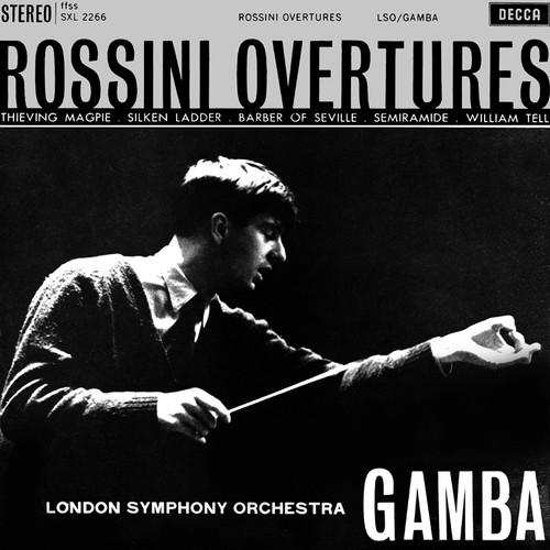 Classical  LP 180g - Rossini: Overtures. Speakers Corner 2266, Cat.# Decca SXL 2266, format 1LP 180g 33rpm. Barcode 4260019710284. More info on www.sepeaaudio.com