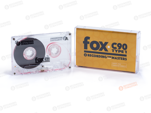 RTM FOX C90 Compact Cassette Audio Tape, 60 minutes. Find more on www.sepeaaudio.com