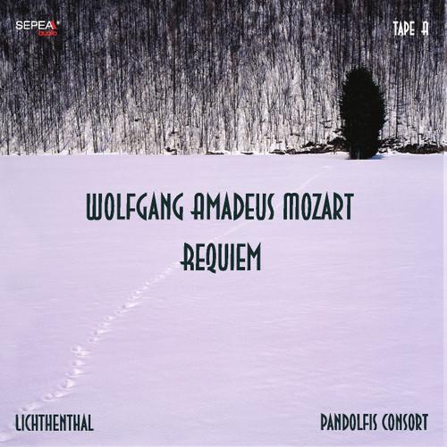 Sepea Audio Original Master Tape Recording - W. A. Mozart Requiem, Arr.: P. Lichtenthal for String Quartet, Pandolfis Consort, Tape A cover. Find more on www.sepeaaudio.com