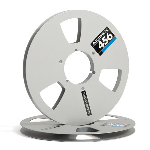 "AMPEX 0,5"" Metal NAB Reel 10,5""/265mm silver - used"