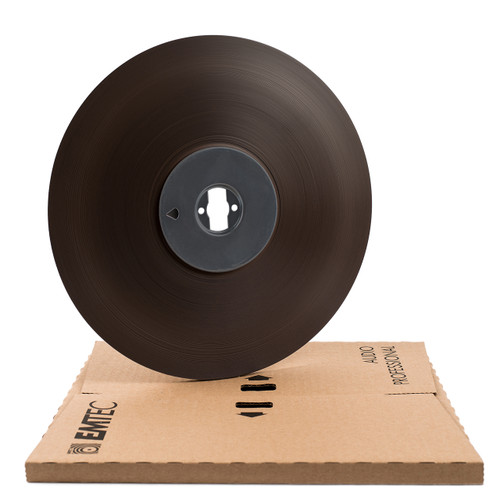 "EMTEC PER 528 0,25""; 3280′/1000m; 11""/280mm Pancake magnetic audio recording tape, Ecopack. Blank reel audio tapes sepeaaudio.com"
