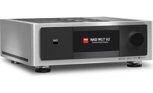 NAD M 17 V2 Surround Sound Preamp Processor - used, demo model