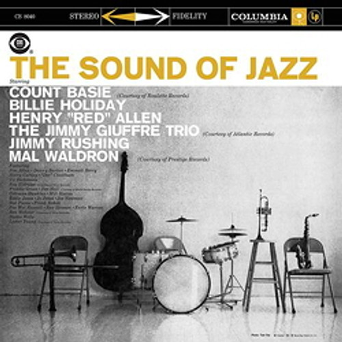 Jazz LP 200g - The Sound Of Jazz. Acoustic Sounds AS111, Cat.# AS AAPJ 111-33, format 1LP 200g 33rpm. Barcode 0753088011115. More info on www.sepeaaudio.com