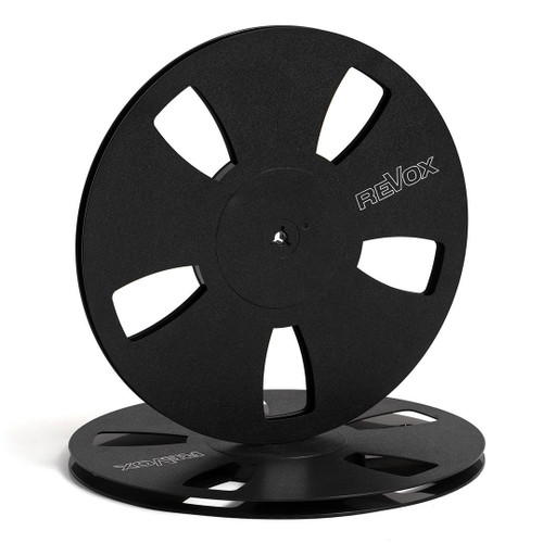 "Revox 0,25"" Plastic Reel; 10,5""/265mm black - used"
