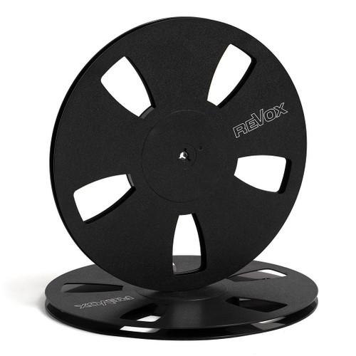 """Revox 0,25"""" Plastic Reel; 10,5""""/265mm black - used"""