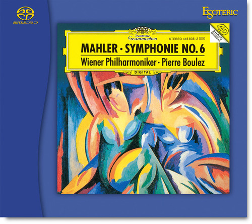 Esoteric ESSG-90231 Mahler Symphonie No.6, Wiener Philharmoniker, Conducted by Pierre Boulez (Hybrid SACD) (249129).  Find more on sepeaaudio.com