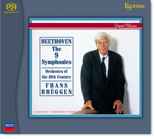 Esoteric ESSD-90233/7 BEETHOVEN The 9 Symphonies, Orchestra of the 18th Century, Conducted by Frans Brüggen (5 Hybrid SACD´s) (249131).  Find more on sepeaaudio.com