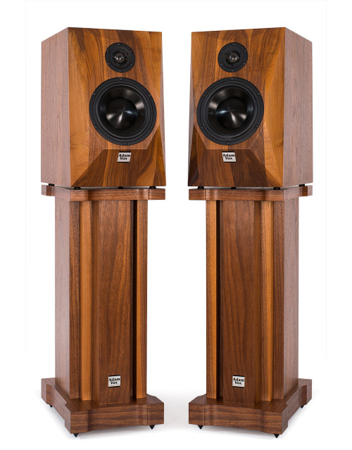 Adam Vox Arad 2-way bookshelf loudspeakers (1 pair). Hand Made High-End Loudspeakers. More info on sepeaaudio.com