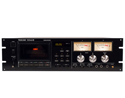TASCAM 122 MKIII Cassette Tape Recorder - renovated. Tape Recorders at sepeaaudio.com