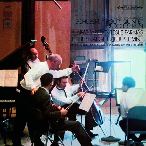 Classical  LP 180g - Schubert: Trout Quintet. Speakers Corner 7067, Cat.# Columbia MS 7067, format 1LP 180g 33rpm. Barcode 4260019714459. More info on www.sepeaaudio.com