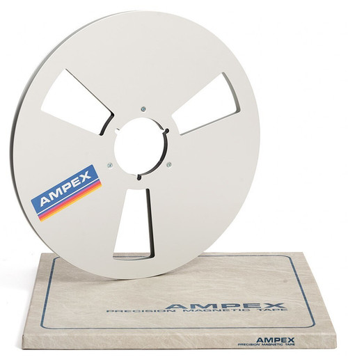"""AMPEX 0,25"""" Metal NAB Reel 14"""" / 360mm silver"""