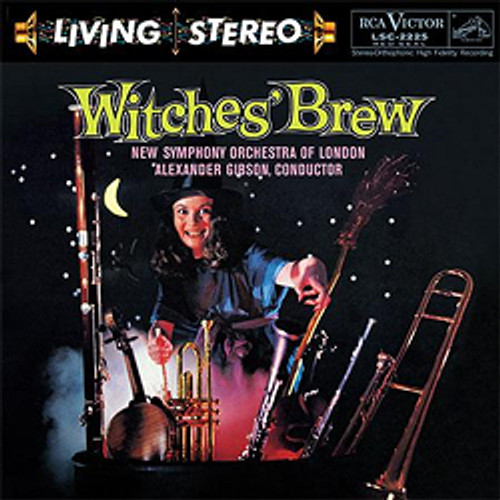 Classical  LP 200g - Witches' Brew. Acoustic Sounds AS2225, Cat.# AS AAPC 2225-33, format 1LP 200g 33rpm. Barcode 0753088222511. More info on www.sepeaaudio.com