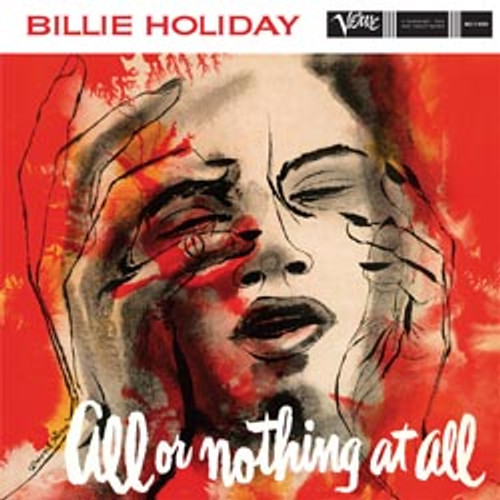 Jazz LP 200g - Billie Holiday: All Or Nothing At All (45rpm-edition). Acoustic Sounds AS8329, Cat.# AS AVRJ 8329-45, format 2LPs 200g 45rpm. Barcode 0753088832918. More info on www.sepeaaudio.com
