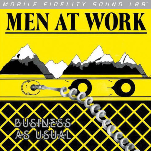 Men At Work Men At Work - Business As Usual (1x Numbered 180g Vinyl LP) Rock LP. MoFi - Mobile Fidelity Sound Lab MOFI 1-024. EAN 821797100243. Release date 01.01.2012. More info on www.sepeaaudio.com