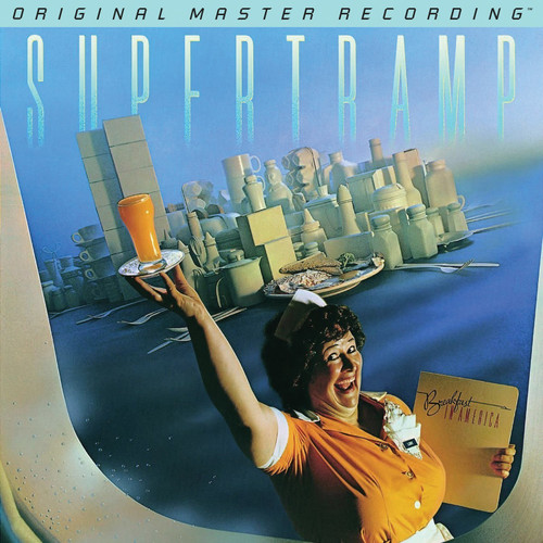 Supertramp Supertramp - Breakfast In America  (1x Numbered 180g Vinyl LP) Rock LP. MoFi - Mobile Fidelity Sound Lab MFSL 1-471. EAN 821797147118. Release date 01.01.2017. More info on www.sepeaaudio.com