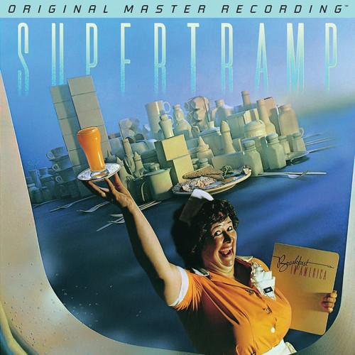 Supertramp Supertramp - Breakfast In America  (1x Numbered 180g Vinyl LP) Rock LP. MoFi - Mobile Fidelity Sound Lab MFSL 1-471. EAN 821797147118. Release date 01.01.2017. More info on www.sepeaaudio.com