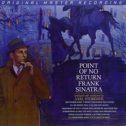 Frank Sinatra Frank Sinatra - Point Of No Return (1x Numbered Hybrid SACD) Pop SACD. MoFi - Mobile Fidelity Sound Lab UDSACD 2112. EAN 821797211260. Release date 01.01.2013. More info on www.sepeaaudio.com