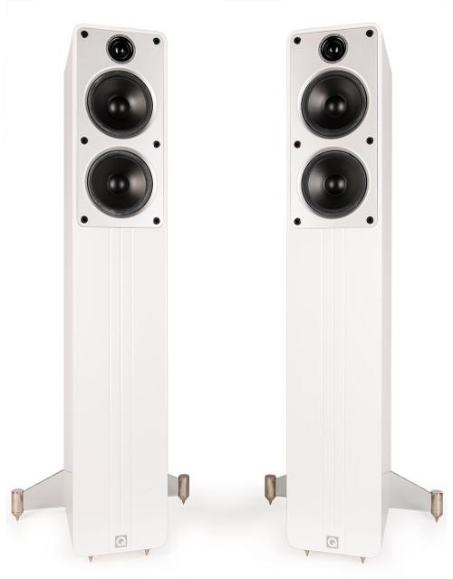 Q Acoustics Concept 40 floorstanding loudspeakers white gloss (1 pair) - used, like new