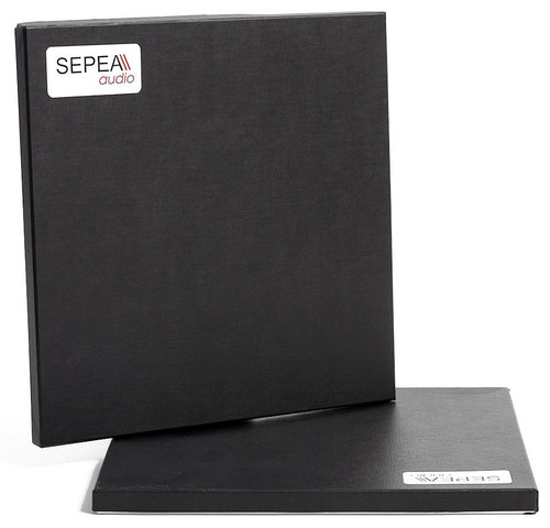 """SEPEA Black Hinged Box for 0,25""""; 12""""/300mm tape"""