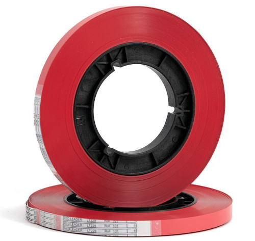 "Zonal LT229 Leader Tape 0,5""; RED"