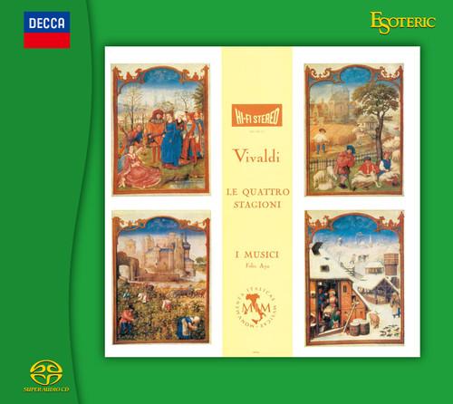Antonio Vivaldi Le Quattro Stagioni, I Musici (Hybrid SACD) (ESSD-90238).  Find more on sepeaaudio.com