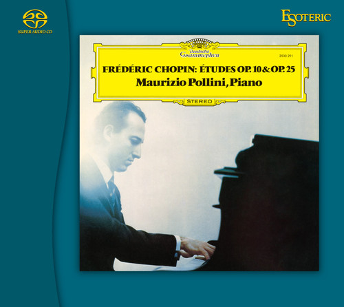 Chopin Études Op.10 & Op.25, Maurizio Pollini, Piano (Hybrid SACD) (ESSG-90239).  Find more on sepeaaudio.com