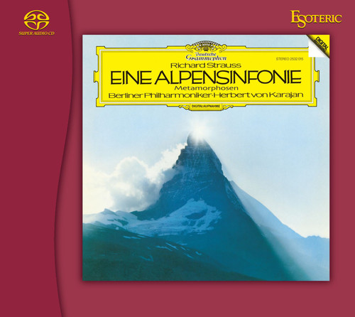 Strauss: Eine Alpensinfonie, Berliner Philharmoniker, Conducted by Herbert von Karajan (Hybrid SACD) (ESSG-90240). Find more on sepeaaudio.com