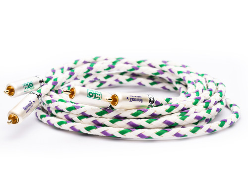 XLO Reference 3-1 2,5m Single Ended RCA Audio Interconnect Cable (xlo-r3-1-2.5m)