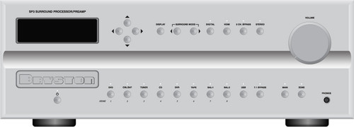 Bryston SP3 Premium Surround Sound Processor. Find more on sepeaaudio.com