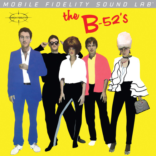 B-52'S B-52'S - The B-52'S  (1x Numbered Vinyl LP) Pop Rock LP. MoFi - Mobile Fidelity Sound Lab MOFI1-004. EAN 821797100045. Release date 01.01.1979. More info on www.sepeaaudio.com
