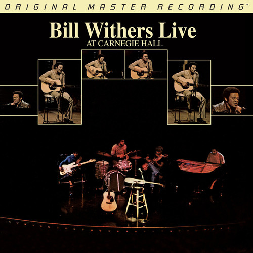 Bill Withers Bill Withers - Live at Carnegie Hall  (2x Numbered 180G Vinyl 2LP) Rock LP. MoFi - Mobile Fidelity Sound Lab MFSL 1-446. EAN 821797244619. Release date 01.01.1973. More info on www.sepeaaudio.com