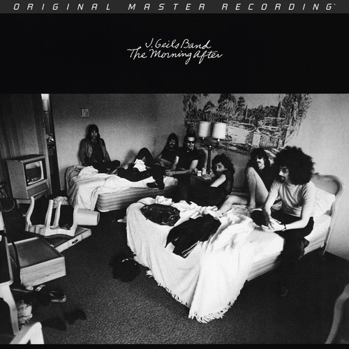 J. Geils Band J. Geils Band - The Morning After  (1x Numbered Edition 180g Vinyl LP) Rock LP. MoFi - Mobile Fidelity Sound Lab MFSL1-415. EAN 821797141512. Release date 01.01.1971. More info on www.sepeaaudio.com